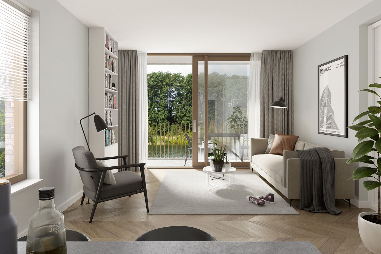 View photo 6 of Helperkade - Appartementen (Bouwnr. 16)