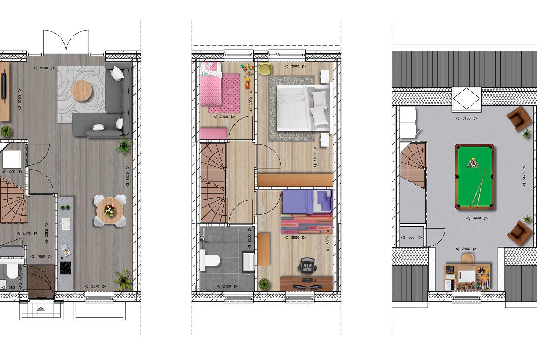 Bekijk foto 5 van Stadswoningen (Bouwnr. 29)