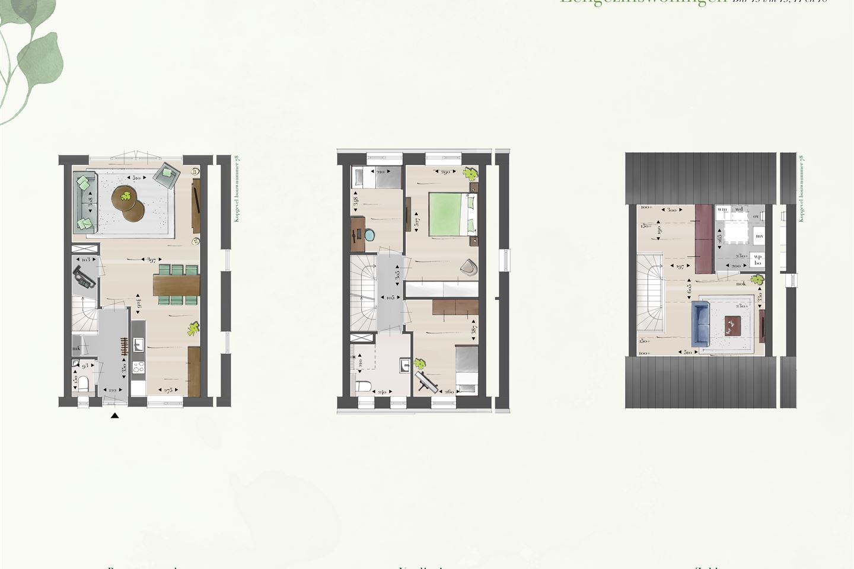 Bekijk foto 4 van Eengezins tussenwoningen (Bouwnr. 77)