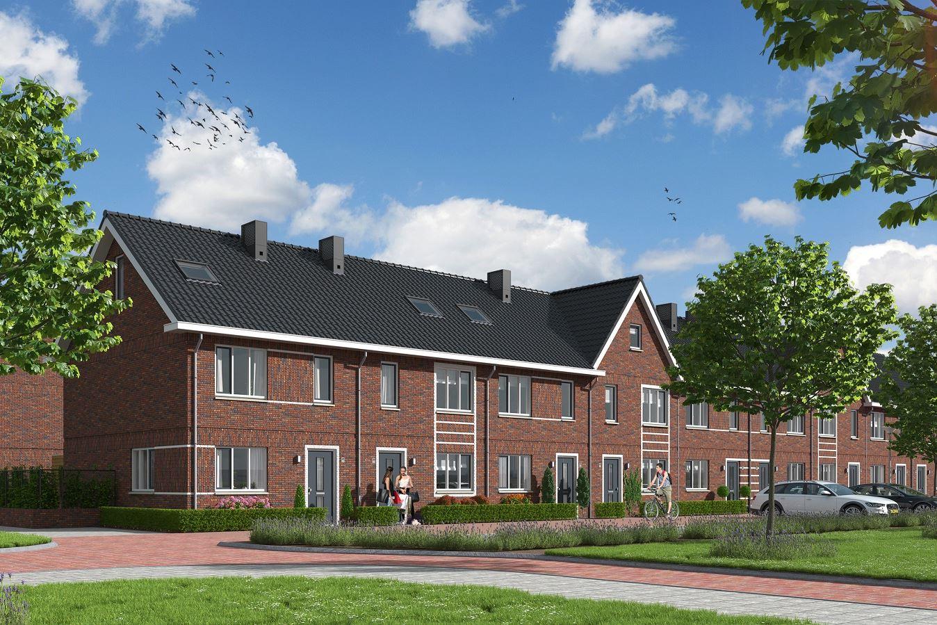 Bekijk foto 1 van Uitgebouwde Tussenwoning (Bouwnr. 40)