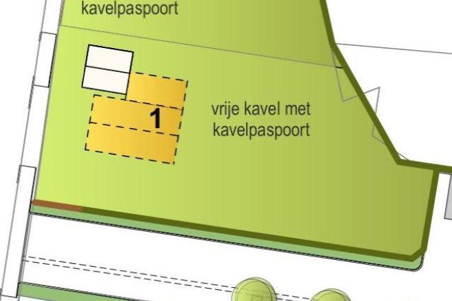 View photo 2 of Kavel (Bouwnr. 1)