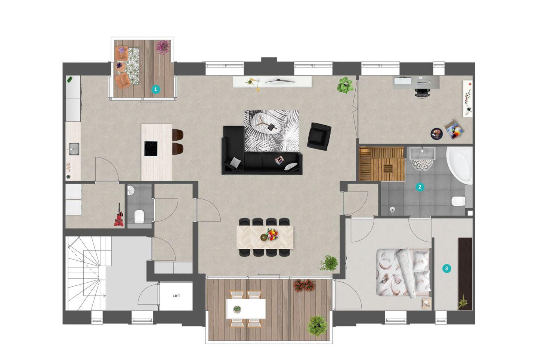 Bekijk foto 5 van 77 | Appartement | De Veiling