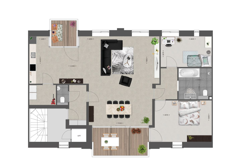 Bekijk foto 4 van 94 | Appartement | De Veiling