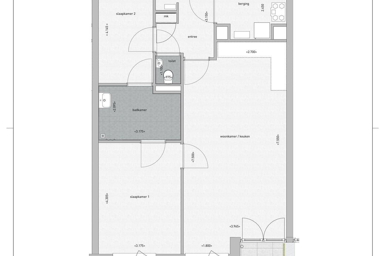 Bekijk foto 4 van Appartement Ketelkade (Bouwnr. 3)