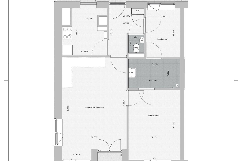 Bekijk foto 4 van Appartement Ketelkade (Bouwnr. 12)