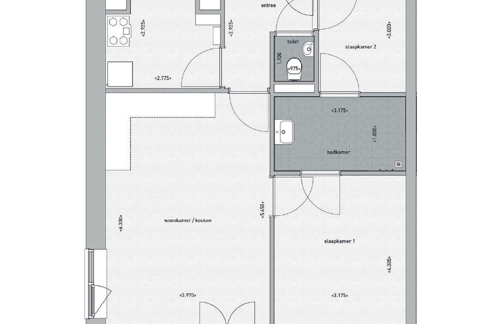 Bekijk foto 4 van Appartement Ketelkade (Bouwnr. 18)