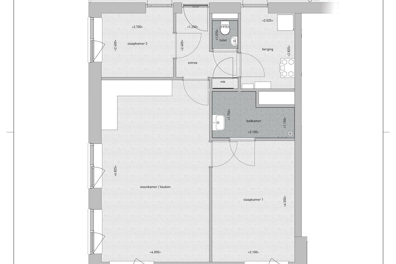 Bekijk foto 4 van Appartement Ketelkade (Bouwnr. 19)