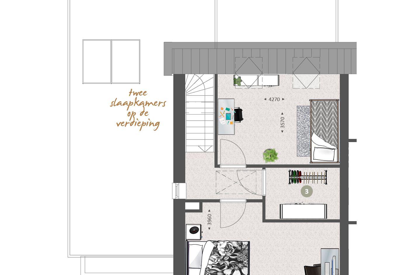 View photo 4 of Ruime levensloopbestendige woning (Bouwnr. 309)