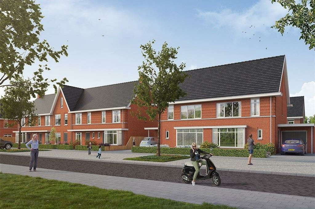 Bekijk foto 1 van Willemsbuiten buurtje 5B 2-onder-1-kap B1 3 (Bouwnr. 301)
