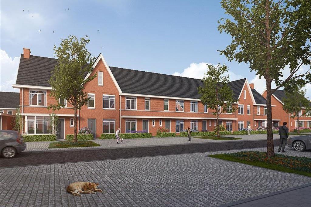 Bekijk foto 1 van Willemsbuiten buurtje 5B Rijwoning jaren '3 (Bouwnr. 280)