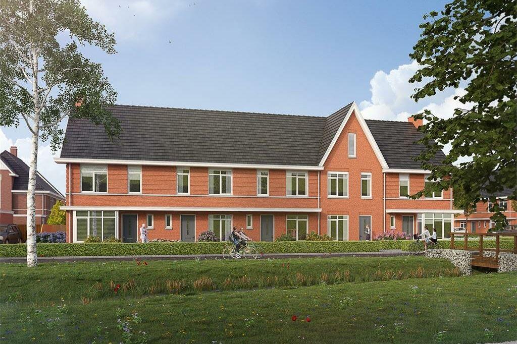 Bekijk foto 1 van Willemsbuiten buurtje 5B Rijwoning jaren '3 (Bouwnr. 279)