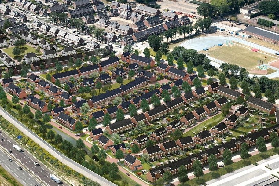 Bekijk foto 6 van Willemsbuiten buurtje 5B Rijwoning koloniaa (Bouwnr. 265)