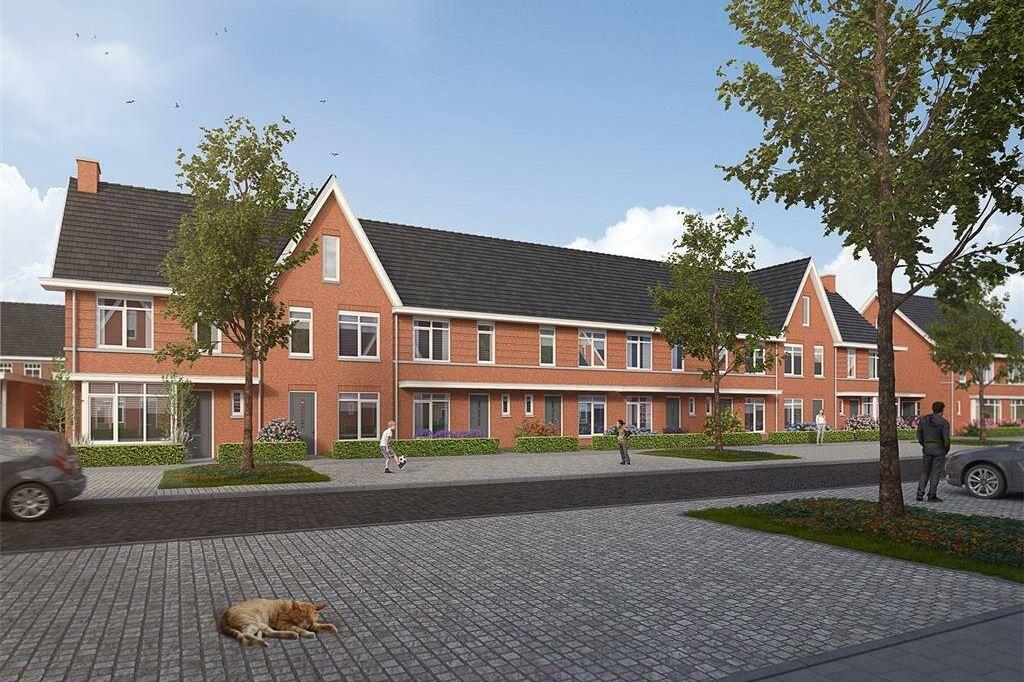 Bekijk foto 2 van Willemsbuiten buurtje 5B Rijwoning jaren '3 (Bouwnr. 279)