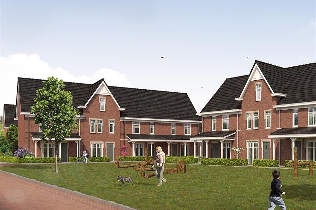 Bekijk foto 1 van Willemsbuiten buurtje 5B Rijwoning koloniaa (Bouwnr. 257)