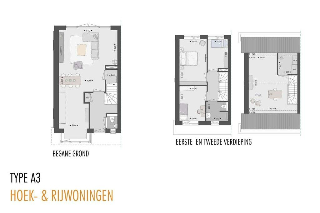 Bekijk foto 5 van Willemsbuiten buurtje 5B Hoekwoning jaren ' (Bouwnr. 295)