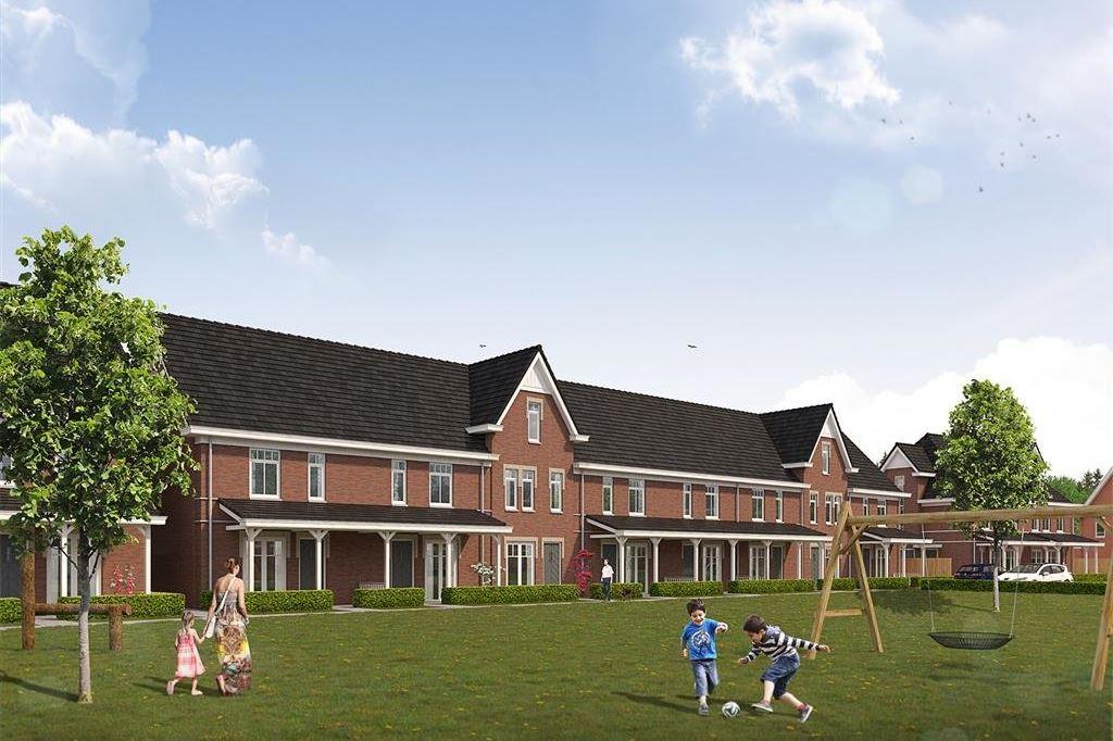 Bekijk foto 1 van Willemsbuiten buurtje 5B Rijwoning koloniaa (Bouwnr. 258)