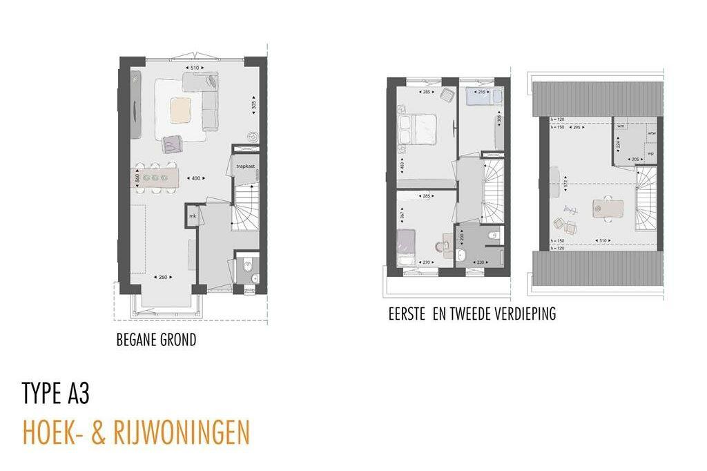 Bekijk foto 5 van Willemsbuiten buurtje 5B Hoekwoning jaren ' (Bouwnr. 288)