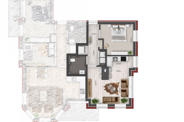 Bekijk foto 2 van Villa de Meeden, appartement 5 (Bouwnr. 5)
