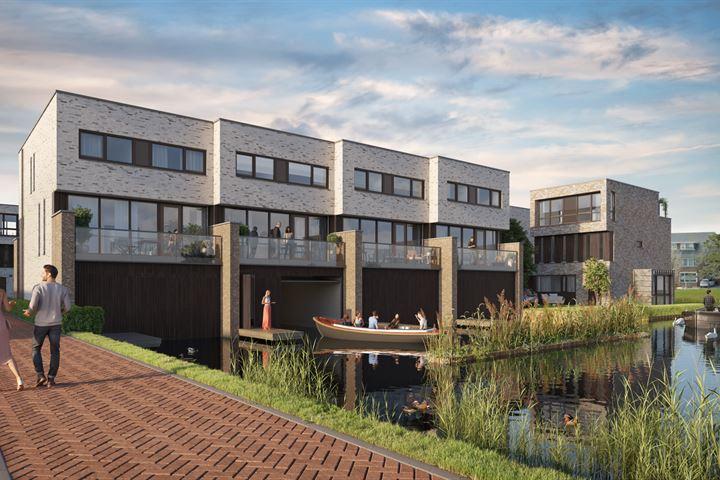 Drijf- in woning met eigen botenhuis (Bouwnr. 1)