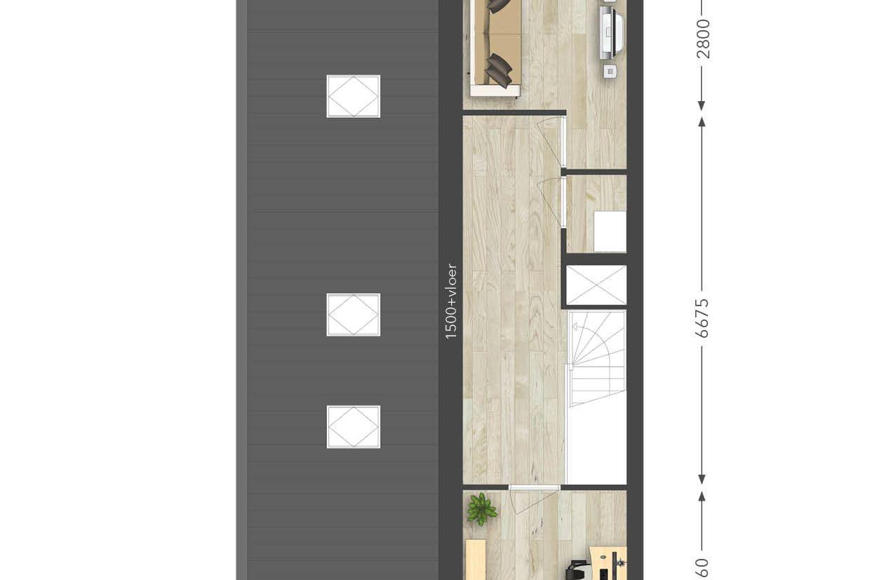 Bekijk foto 6 van twee-onder-een-kap-woning (Bouwnr. 15)