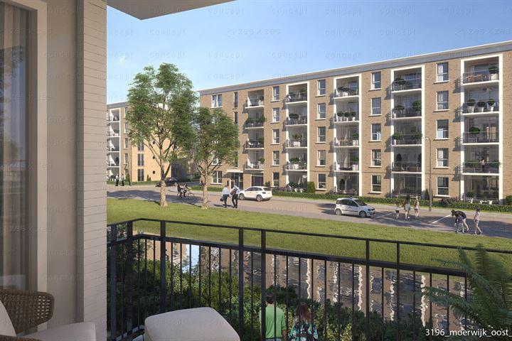 tussenappartement met balkon (Bouwnr. 124)