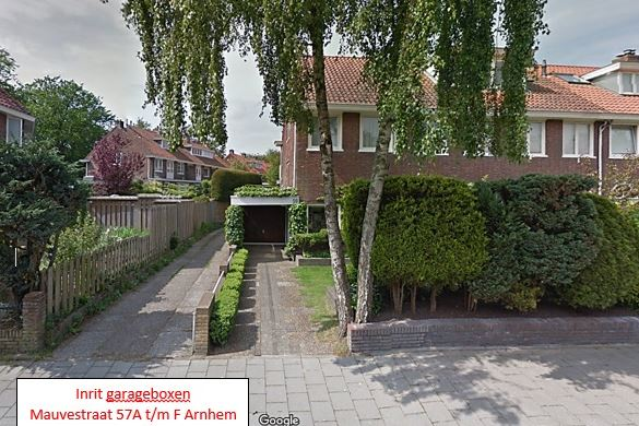 Mauvestraat 57 A-F, Arnhem