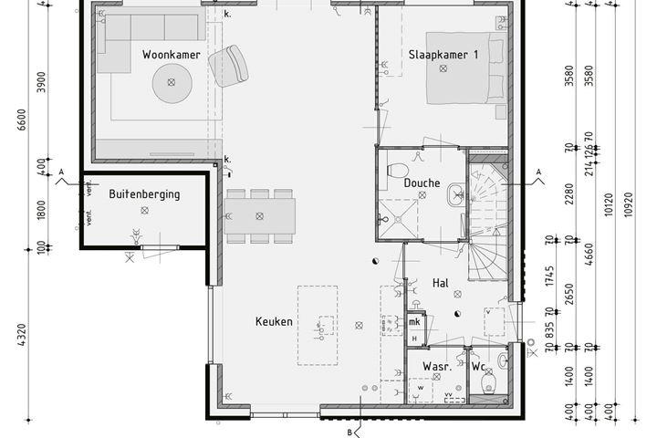 Vrijstaande semi-bungalow - type VS (Bouwnr. 704)