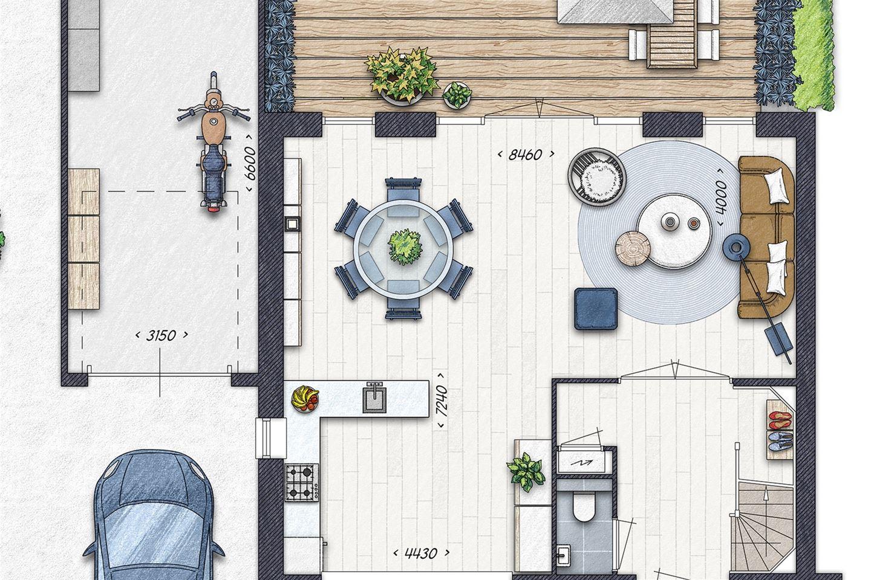 Bekijk foto 3 van Burgthoven III blok 3, bouwnummer 4