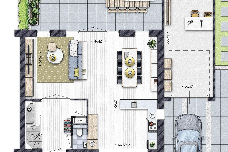 Bekijk foto 3 van Burgthoven III blok 3, bouwnummer 5