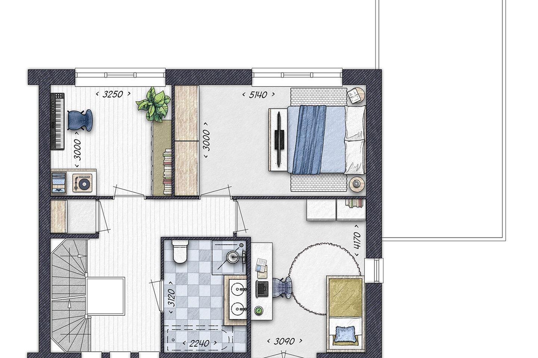 Bekijk foto 4 van Burgthoven III blok 3, bouwnummer 5