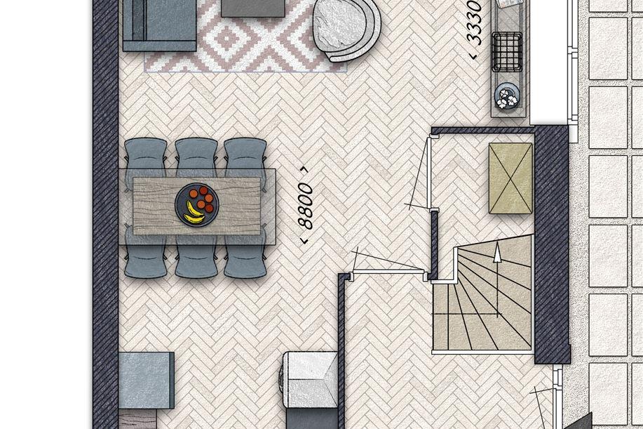 Bekijk foto 3 van Burgthoven III blok 5, bouwnummer 12