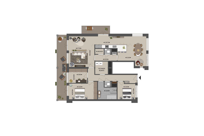 Bekijk foto 1 van De Bariton appartementen Opera A5 (Bouwnr. 5)