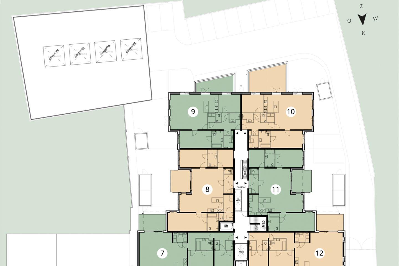 Bekijk foto 4 van Villa Mosa appartement 1e verdieping (Bouwnr. 9)
