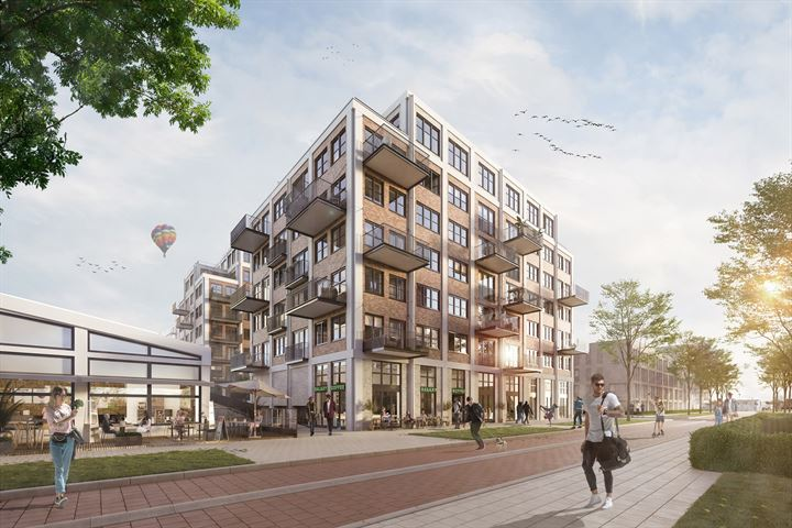 INK Apartments Delft (fase 1 - blok N)