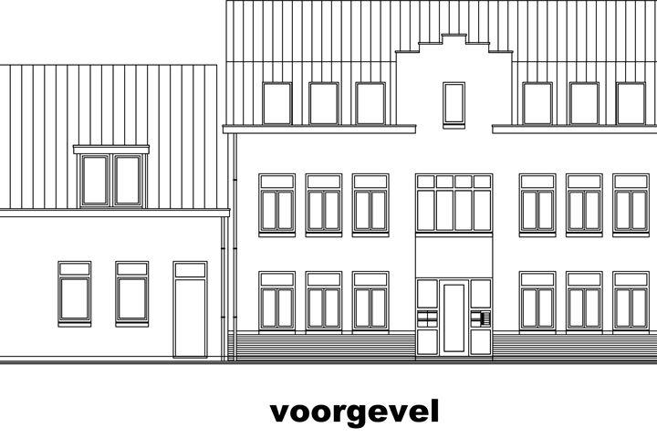 Stationstraat type B BEGANE GROND