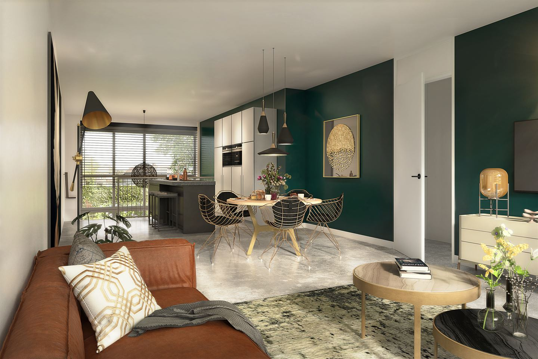 Bekijk foto 4 van 15 | City Apartment L | 't Gildehuys (Bouwnr. 15)