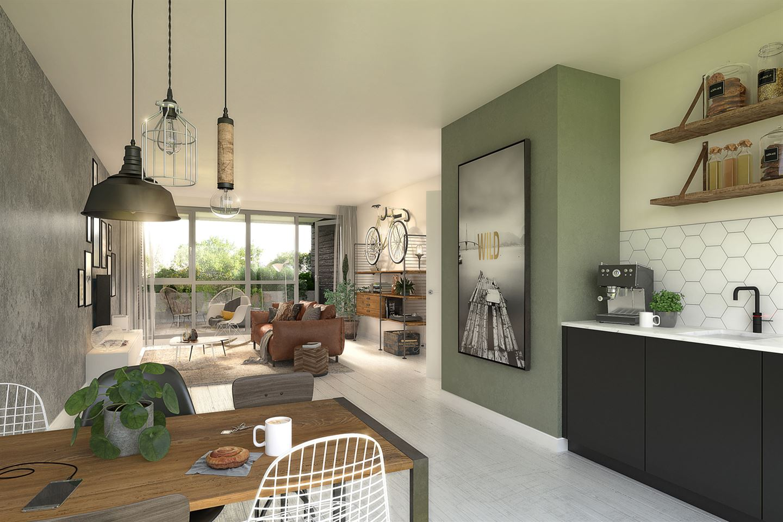 Bekijk foto 5 van 15 | City Apartment L | 't Gildehuys (Bouwnr. 15)