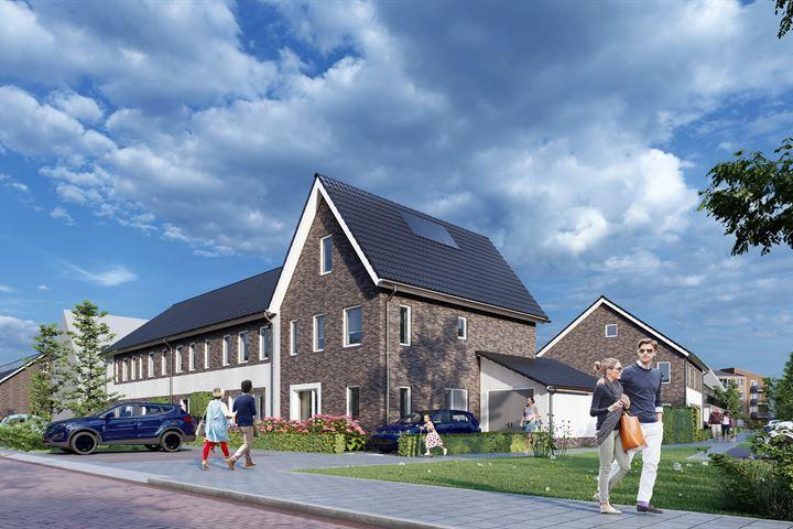 Hoekwoningen met dwarskap en garage (Bouwnr. 422)