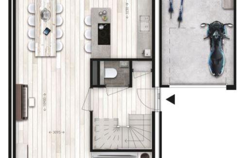 Bekijk foto 3 van 6 twee-onder-één-kap woningen (Bouwnr. 3)