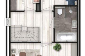 Bekijk foto 4 van 6 twee-onder-één-kap woningen (Bouwnr. 4)
