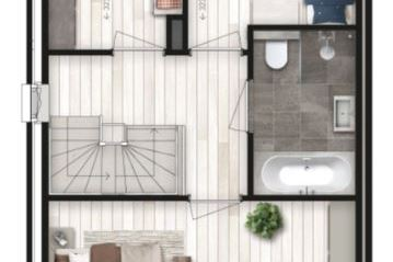 Bekijk foto 4 van 6 twee-onder-één-kap woningen (Bouwnr. 6)