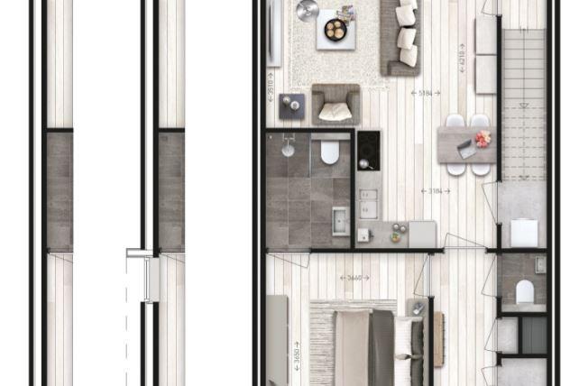 Bekijk foto 3 van 6 levensloopbestendige woningen (Bouwnr. 11)