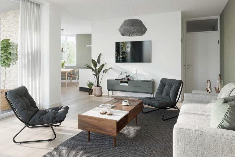 Bekijk foto 2 van 23|Centrumappartement|type A|De Smidse (Bouwnr. 23)
