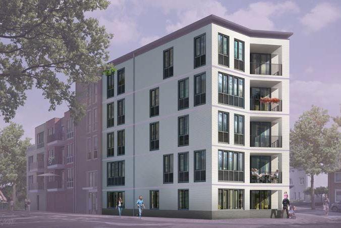 Bekijk foto 3 van 23|Centrumappartement|type A|De Smidse (Bouwnr. 23)