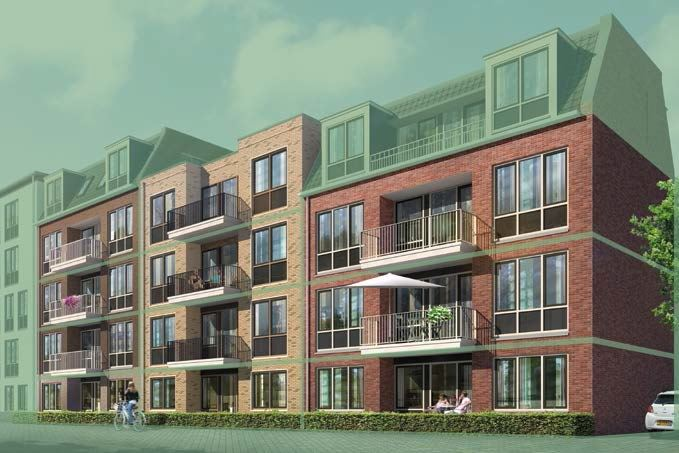 Bekijk foto 2 van 4|Centrumappartement|type B|De Smidse (Bouwnr. 4)