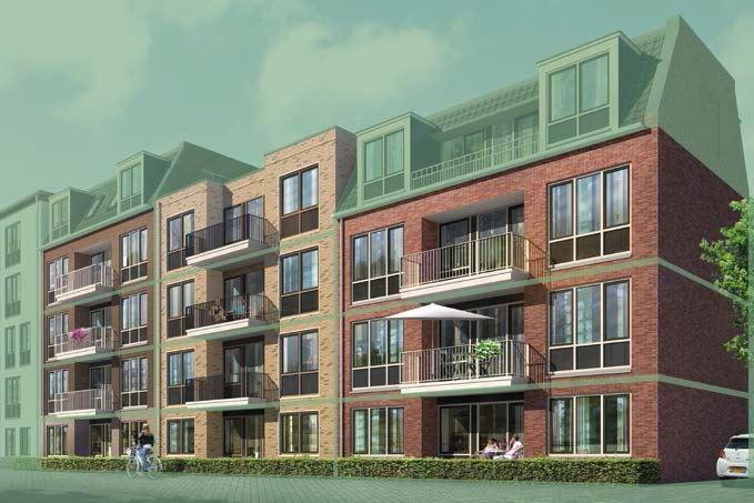 Bekijk foto 2 van 8|Centrumappartement|type B|De Smidse (Bouwnr. 8)
