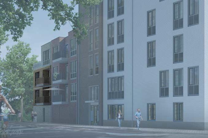 Bekijk foto 2 van 9|Centrumappartement|type C|De Smidse (Bouwnr. 9)