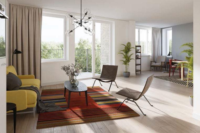 Bekijk foto 4 van 15|Centrumappartement|type C|De Smidse (Bouwnr. 15)