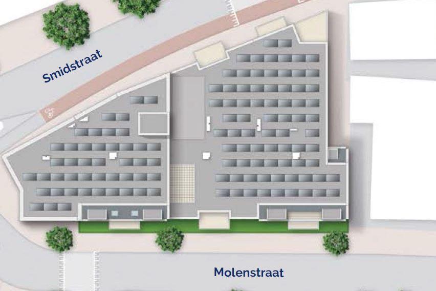 Bekijk foto 4 van 10|Centrumappartement|type D|De Smidse (Bouwnr. 10)