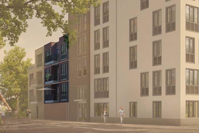 Bekijk foto 2 van 22|Centrumappartement|type D|De Smidse (Bouwnr. 22)